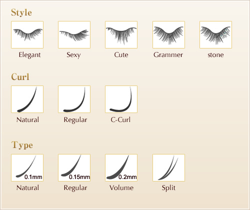 Image Gallery Lash Extension Styles