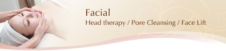 [Facial]Head therapy / Pore Cleansing / Face Lift